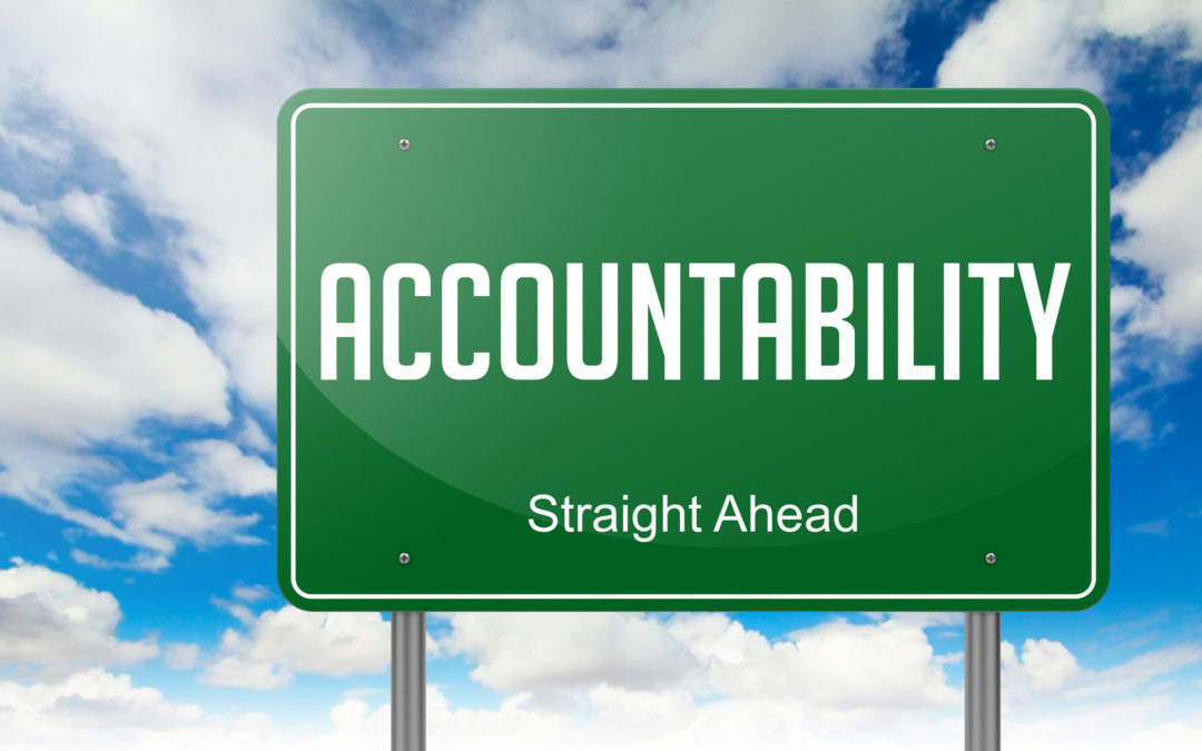 Accountability is the team's super glue