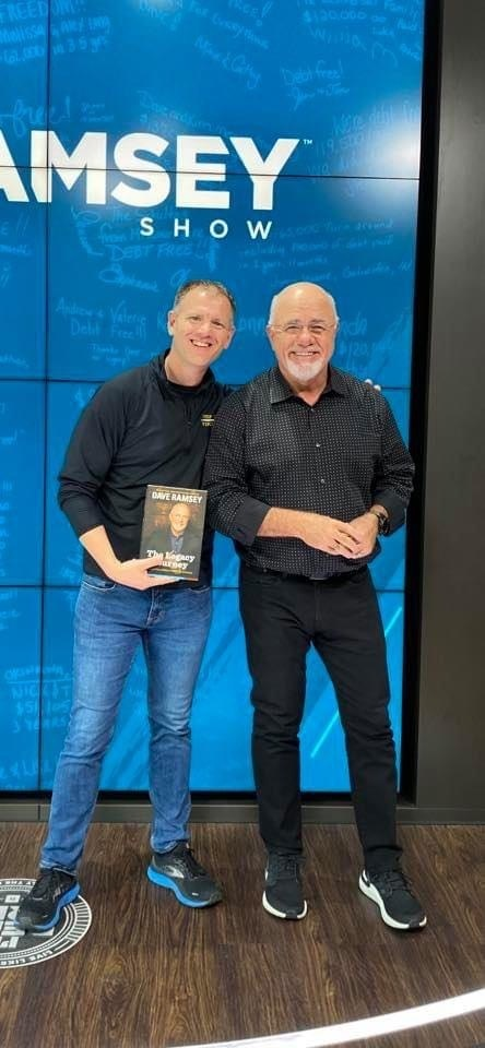 Dr Matthew Harkness with Dave Ramsey